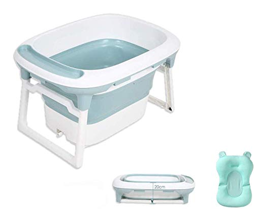 Babify Bañera Bebé Plegable con Cojín Reductor Aqua Plus - De 0 a 8 años