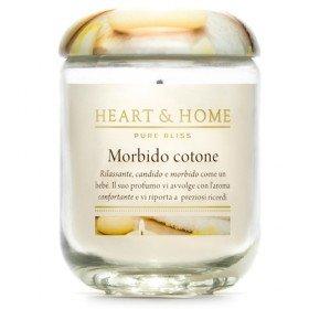 Heart & Home doux coton large Candle 340 gr