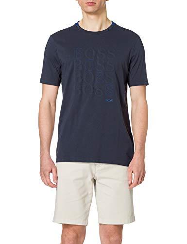 BOSS Teeonic 10209546 01 Camiseta, Navy410, XXL para Hombre