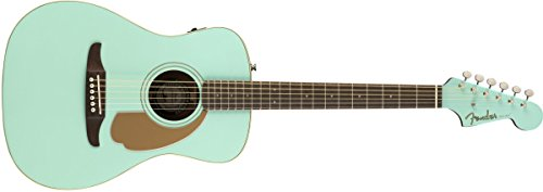 Fender Malibu Player - California Series Acoustic Guitar - Aqua Splash