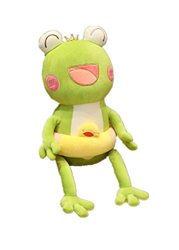Knuffel, Schattige Kikker Knuffels Gevulde Mooie Dieren Poppen Zacht Babyslaapkussen Voor Kinderen Meisjes Verjaardagscadeautjes 75cm groen