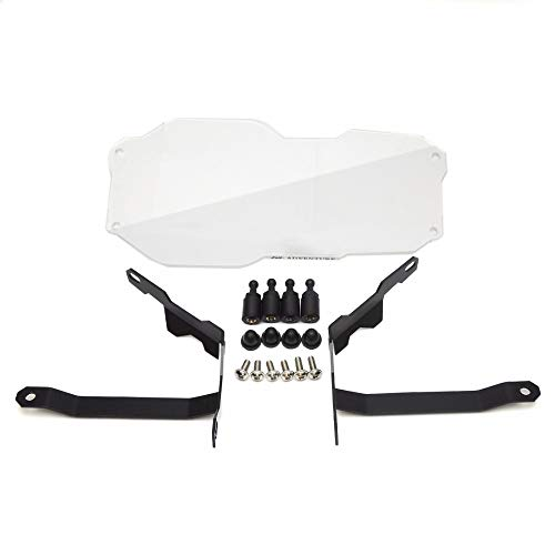 LanLan Beschermhoes voor koplampen, transparant, voor BMW R1200GS ADV Adventure 13-16