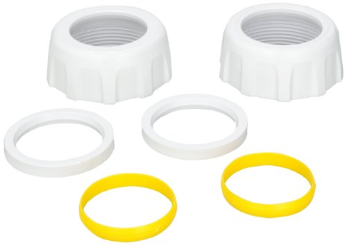Hayward GLX-DIY-CCN2 2-Inch Plumbing Nuts, Ring and Collar Replacement for Hayward Salt and Swim Salt Chlorination System