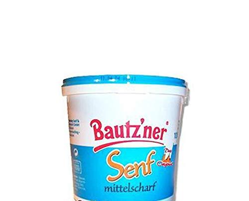 Bautzner Senf - mittelscharf 1l Eimer