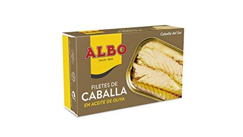 Albo Filetes de Caballa en Aceite de Oliva, 120g