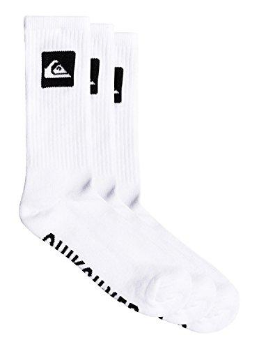 Quiksilver 3 Pack - Crew Socks - Crew Socken - Männer - ONE SIZE - Weiss