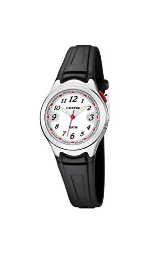 Calypso Damen Analog Quarz Uhr mit Plastik Armband K6067/4