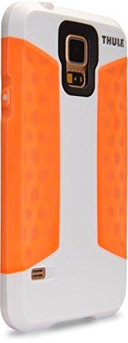 Thule Atmos X3 Case für Samsung Galaxy S5 mit Sturz-Schutz weiß/orange