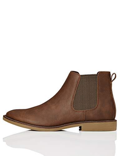 find. Marsh Chelsea Boots, Braun (Tan Leather Look), 41 EU