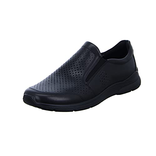 Ecco Herren IRVING Slip On Sneaker, Schwarz (Black 1001), 44 EU
