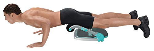 Product Image 5: Core Max 2.0 Smart Abs and Total Body Workout Cardio Home Gym , Teal/Grey