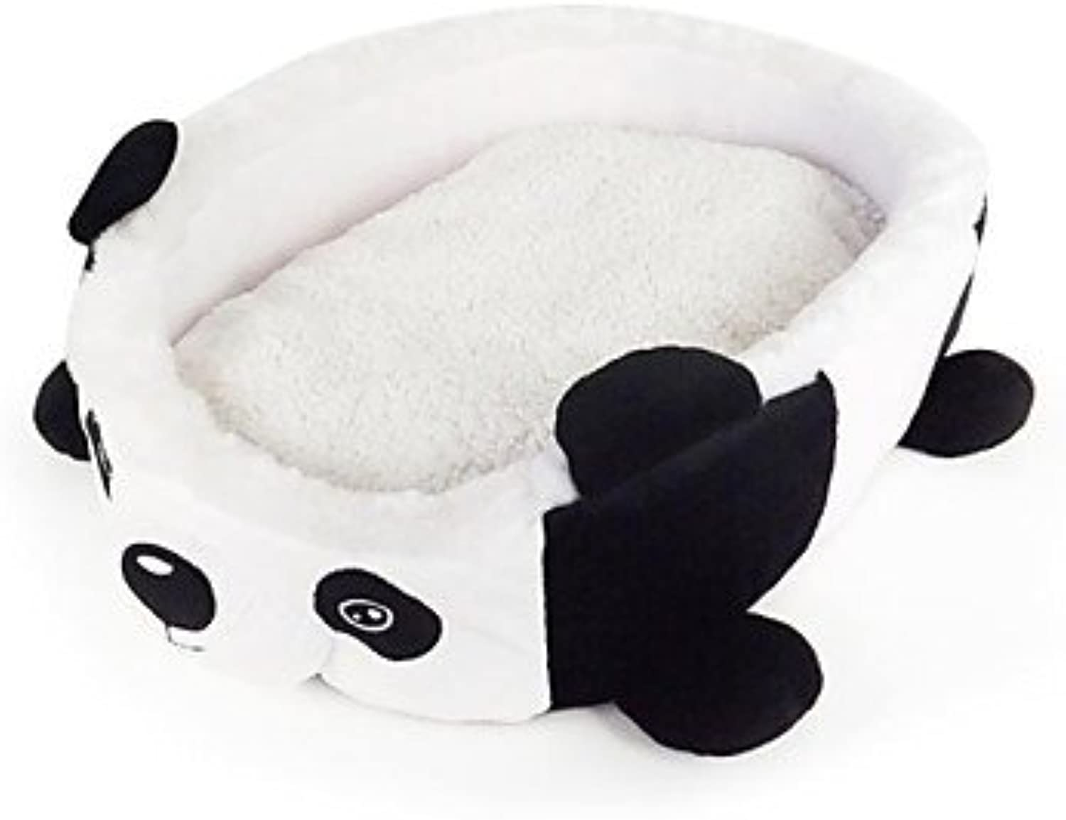 Quick shopping Panda Kennel for Pets Dogs , White , S