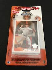 2010 World Series Champions San Francisco Giants Topps Limited Edition Factory Team Set 27 total product image