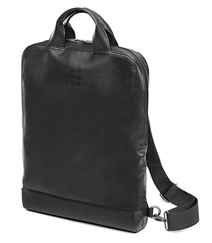Moleskine - Device Bag, Vertical PC Bag, PC Backpack for Laptop, Notebook, iPad, Computer up to 15.4 Inch, Size 29 x 39 x 6 cm, Black