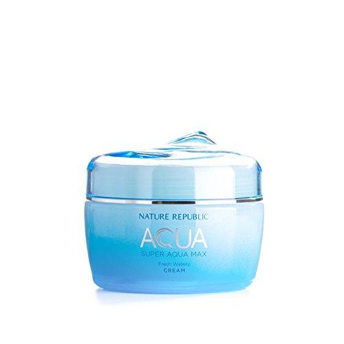 Nature Republic Super Aqua Max Fresh Watery Cream for Oily Skin, 80 Gram