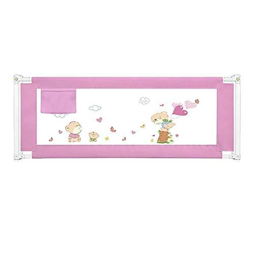 Bettgitter RQ Bettzaun Baby Fallschutzzaun Einseitiger Vertikalaufzug Faltbar (Size : L-200cm)