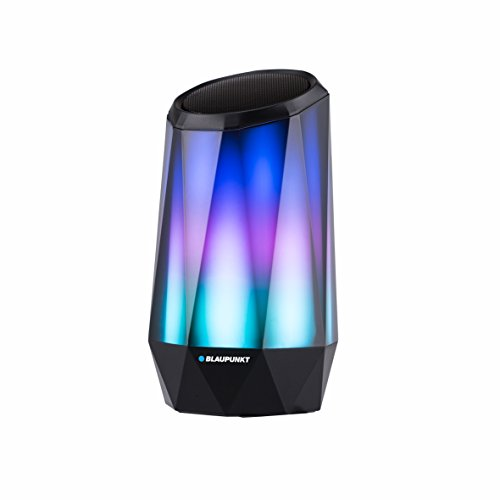 Blaupunkt BLP3000 draadloze Bluetooth-luidspreker, met LED-licht 5 W, radio 2,4 GHz, lithium batterij 1200 mAh tot 3 uur