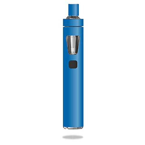 MightySkins Skin Compatible with Joyetech eGo AIO - Solid Blue | Protective, Durable, and Unique Vinyl Decal wrap Cover | Easy to Apply, Remove, and Change Styles | Made in The USA