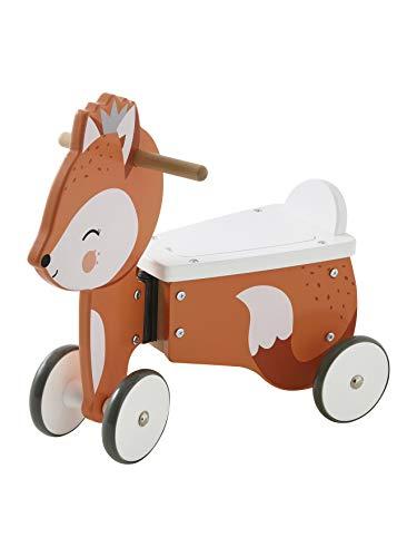 VERTBAUDET Vehículo deslizante, zorro, con caja de juguetes #NV One Size