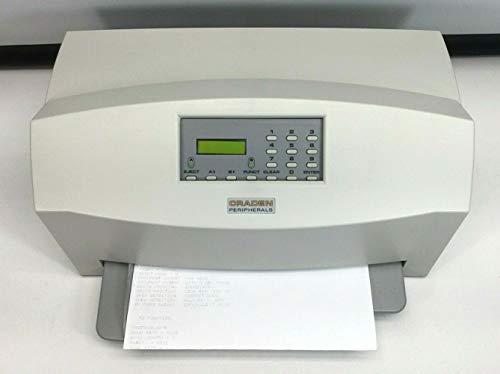Review CRADEN DP9 Dual Serial PASSBOOK Printer REFURB Tested
