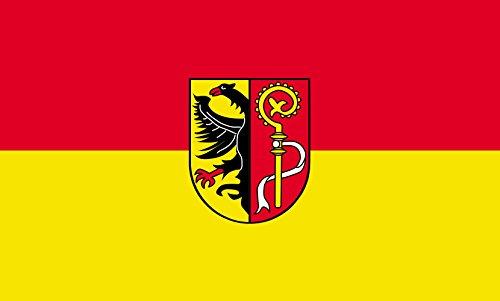 Unbekannt magFlags Tisch-Fahne/Tisch-Flagge: Biberach (Kreis) 15x25cm inkl. Tisch-Ständer