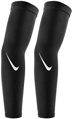 Nike Pro Dri-Fit Sleeve 4.0 (Black/White, L/XL)