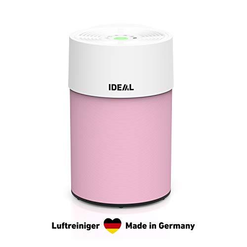 IDEAL - Luftreiniger AP30 PRO bis 40m² I Hergestellt in Deutschland I Rosa I HEPA Filter & Aktivkohlefilter, CADR 301m³/h, 99,99% Filterleistung (Allergene, Pollen, Zigarettenrauch, …) für Allergiker