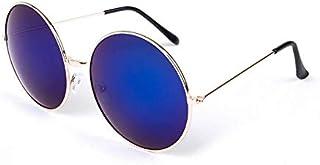 نظارات كبيرة مستديرة عصرية، نظارات شمسية باطار برينس لطيف ومستدير، نظارات للرجال والنساء