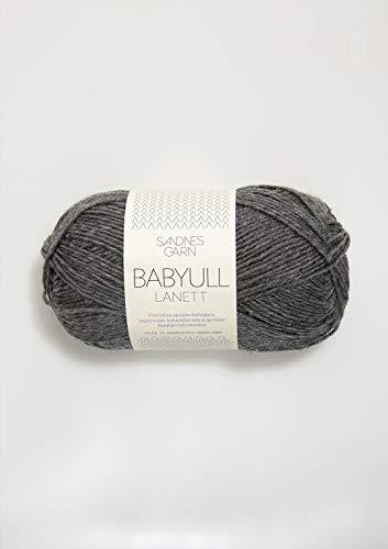 Sandnes Garn Babyull Lanett 1053 - Hilo de Arena para bebé, Color marrón