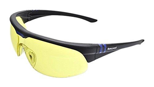 HONEYWELL Schutzbrille Millenia 2G | Rahmen: schwarz | Sichtscheibe: gelb | 1 Stück