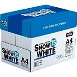 TANOSEE PPC用紙 SNOW WHITE 75 A4 500枚×5冊/箱