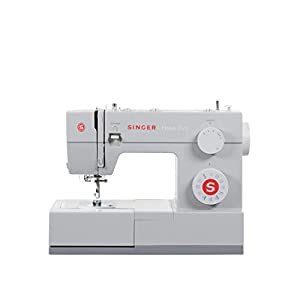 SYS Score: 8.8 SINGER | Heavy Duty 4423 Sewing Machine with 23 Built-In Stitches -12 Decorative Stitches, 60% Stronger Motor & Automatic Needle Threader, Perfect for Sewing all Types of Fabrics with Ease