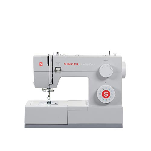 SINGER 4423 Heavy Duty Extra-High Sewing Speed Sewing Machine - Parent, grey, 15.5'W x 12'H x 6.25'D; 14.5 lbs.