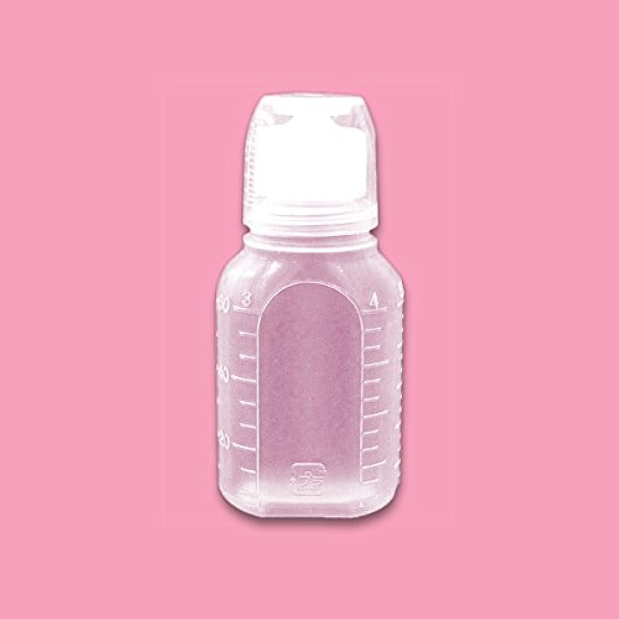 突っ込む植生耐える液体用空ボトル 60g 5個入 [ 空ボトル 空容器 詰め替え用 うがい薬 ローションボトル サンプル用 ]◆