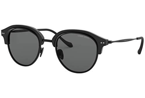 Armani GIORGIO 0AR8117 Gafas de sol, Matte Black, 50 para Hombre