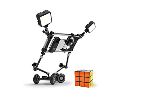 DREAMGRIP Still & Motion Camera Support Kit | Universal Modular kit with Handheld Stabilizer and Tabletop Mobile Rolling Slider Dolly