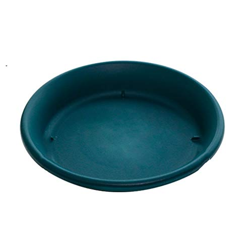 NYKK Garden plant container Round Plastic Plant Saucer Tray Plant Pot Saucer Flower Pot Tray For Garden Potted Water Drips flower pot (Size : C)