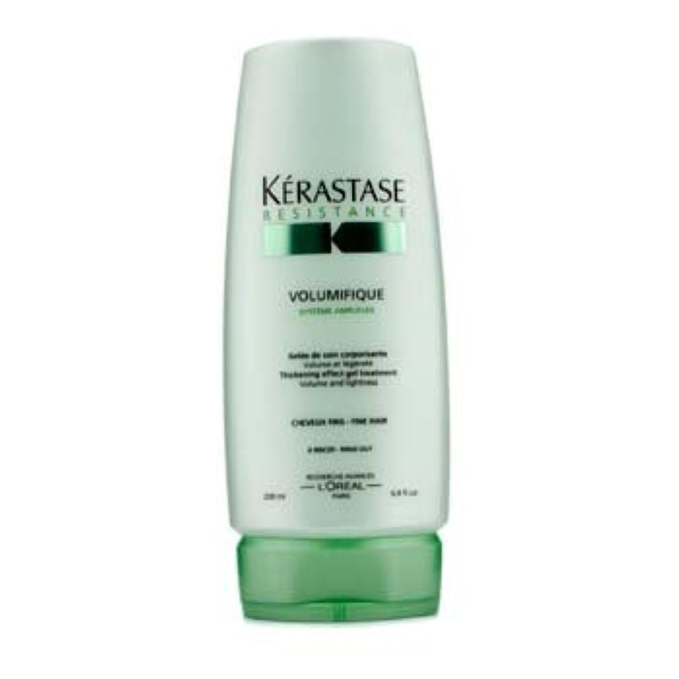 多様な導入する派手ケラスターゼ Resistance Volumifique Thickening Effect Gel Treatment (For Fine Hair) 200ml/6.8oz並行輸入品