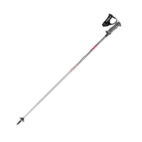LEKI Skistöcke »Speed S« Hellgrau Schwarz Weiß Rot 130cm