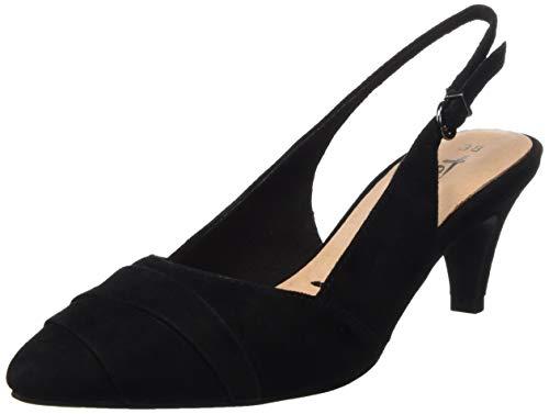 Tamaris Damen 1-1-29616-32 Slingback Ballerinas, Schwarz (Black 1), 38 EU
