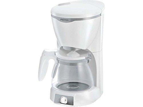 Petra Electric 58.240012.01.001 Macchina Caffe Filtro, 1000 Watt