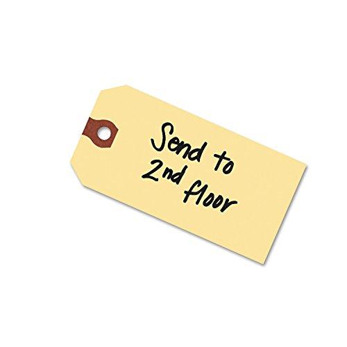 Avery 12301 Unstrung Shipping Tags, 13-pt. Stock, 2 3/4 x 1 3/8, Manila (Box of 1000)