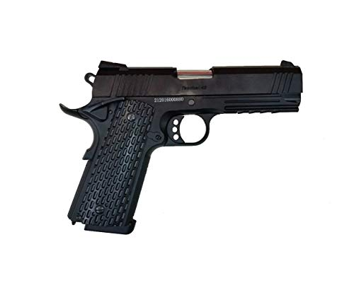 GOLDEN EAGLE Pistola Gas 1911 Night Warrior 4.3 Color Negro