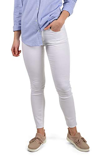 ONLY Jelena Damen Jeans Denim Hose Stretch Colour, Farbe:White, Größe:XS/ L30