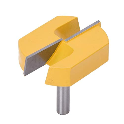 woodworking tools 8x57mm Router Bit Bottom Surface Planing Woodworking Milling Cutter Trim Router Bit Power Tool Parts & Accessories