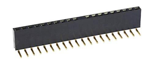 econ Connect Buchsenleiste BL20/1W8, 1x 20-polig, Körperhöhe 8,5 mm, gewinkelt, Nicht trennbar