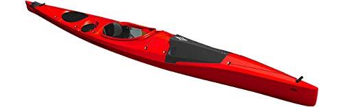 Point65 Bourbon 17 - Kayak de expedición, color rojo