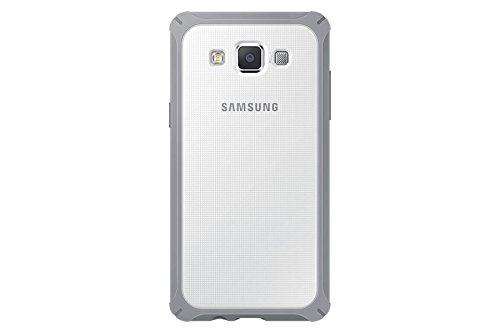 Samsung EF-PA500B 5' Funda Gris, Color Blanco - Fundas para teléfonos móviles (Funda, Galaxy A5, 12,7 cm (5'), Gris, Blanco)