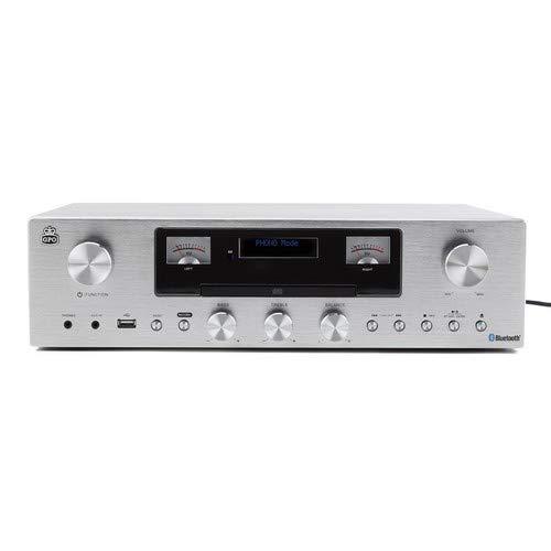 GPO PR 200 Amplifier Speaker System Bluetooth AMP CD FM USB Record