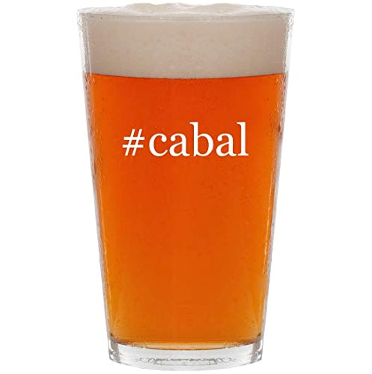 #cabal - 16oz Hashtag All Purpose Pint Beer Glass